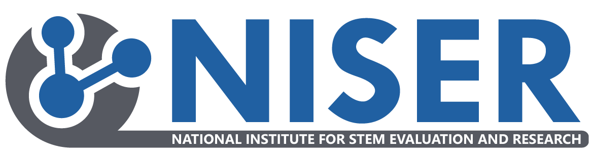 National Institute for STEM Evaluation and Research (NISER) logo