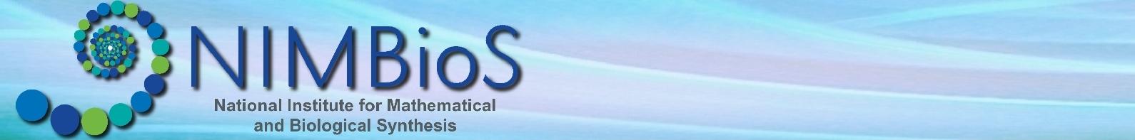 NIMBioS logo banner.