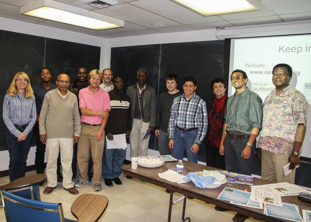 Postdoctoral Fellow Clemente Aguilar at Howard University