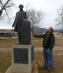 Postdoc Nick Matzke meets William Jennings Bryan.