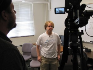 Ben Roberson on camera