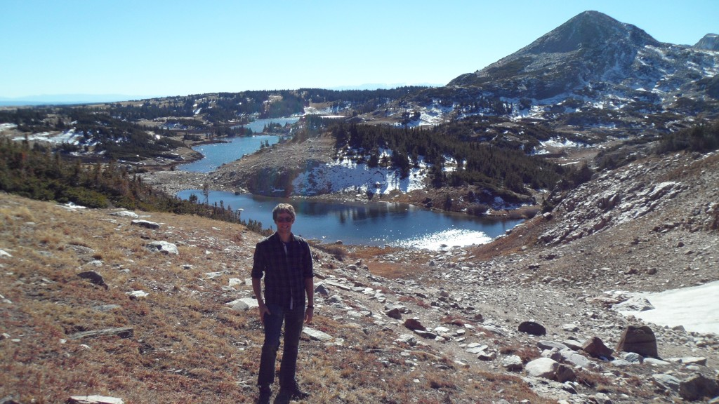 Sean Hoban visits Medicine Bow National Forest in Wyoming,  one of the many places from where the US Forest Service is sending seeds to the National Center for Genetic Resource Preservation seed bank in Ft. Collins, CO.