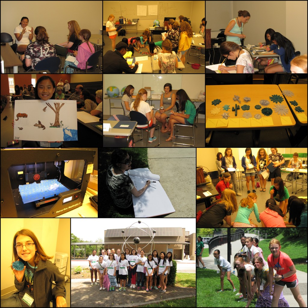 Highlights from last week's Adventures in STEM Camp