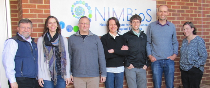 Participants from the March 2016 meeting of the Working Group, Meeting 3 participants: (L to R) Michael Antolin, Joanna Kelly, Andrew Storfer, Katie Lotterhos, Sean Hoban, David Lowry, Laura Reed.